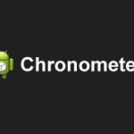 Using Chronometer in Android