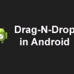 How to code Drag n Drop in Android
