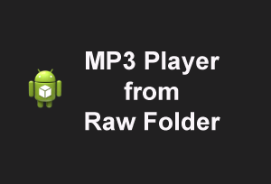 mp3fromraw